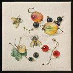 Gooseberries, Currants and Bee, 2009