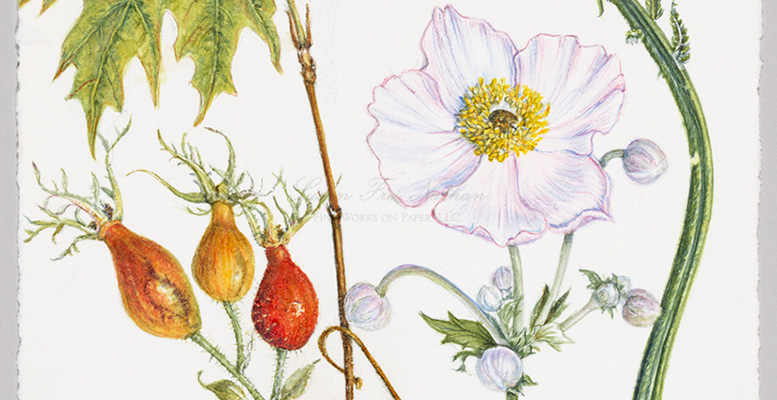 Welcome Spring: Grow an Interior Garden with Contemporary Botanical Paintings.